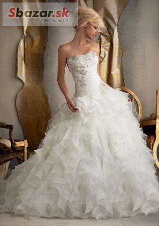 eba35d1f7d0c Predám - Svadobné šaty zn. Mori Lee