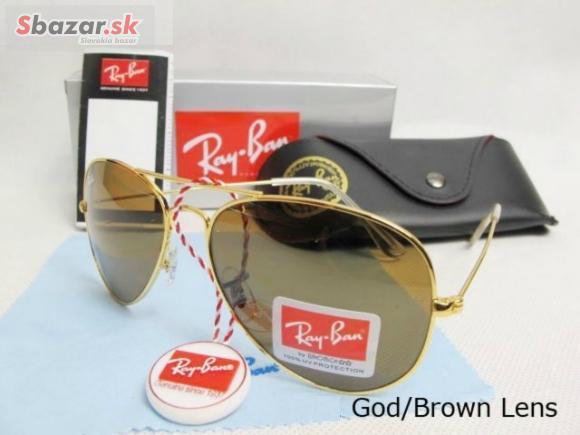 dee5aec45 Predám - Ray Ban 3025 Gold -slnečné okuliare- pošta ZDAR