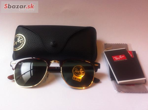 88b11b96b Predám - Ray Ban 3016 Clubmaster okuliare -pošta ZDARMA