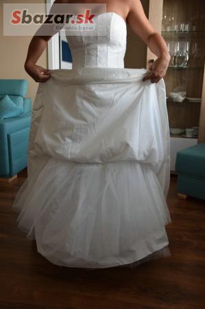75199763c786 Predám - Predám krásne čipkované svadobné šaty