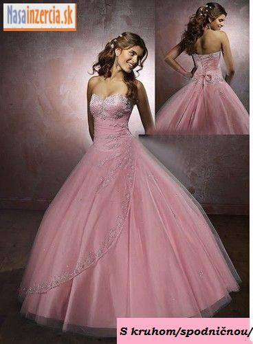 Predám spoločenské šaty - foto 6e286932e9
