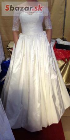 f24ea21e8d3a Predám - Predám svadobné šaty ivory