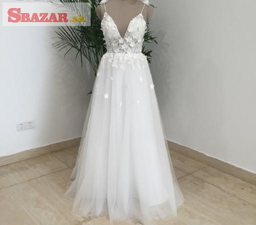 93a6d66f98b8 Predám - Letné svadobné šaty - SUPER CENA!!
