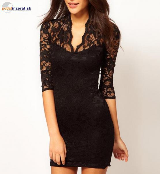 7b7bc0639685 Predám - luxusné elegantné čipkované šaty