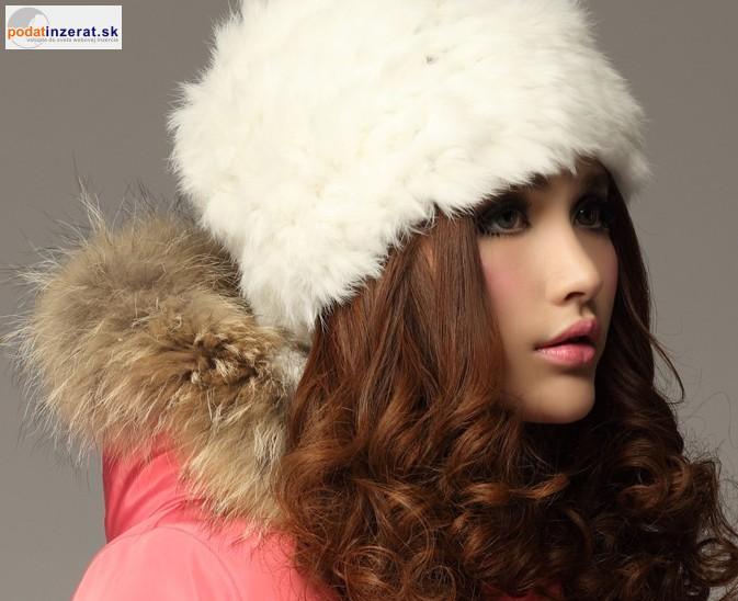 dc3610457 Predám - moderné dámske kožušinové čiapky