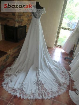 55767e68d523 Predám - lacné svadobné šaty