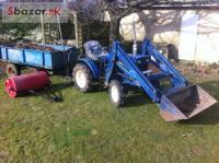 Predám Iseki traktor T-X401 v 100% top stave - 4x
