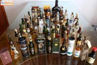 predám zbierku 161 ks minifľaštičiek alkoholu