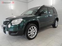 Škoda Yeti 2.0 TDI 103kW 4x4 XENONY 92 290 KM-DPH