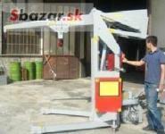 Mobilný dielenský žeriav Gruniverpal MINIDREL G