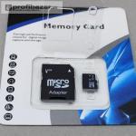 32 GB a 64 GB micro sd a 8 GB sd pamäťové karty