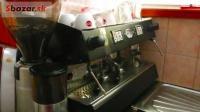 Profesionálny 2-pákový kávovar s mlynčekom