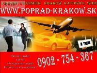 Poprad - Krakow .sk / doprava na letisko 15€