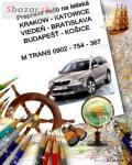 Presov - Krakow doprava na letisko