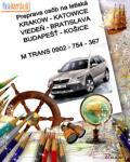 doprava letisko KRAKOW a KATOWICE / licencia TAXI