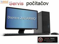 Servis PC Diagnostika a vyzdvihnutie ZADARMO