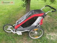 Chariot Cougar1 + cyklo set + jogging set + brzda