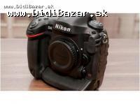 Na predaj Nikon D4 16 MP digitálna zrkadlovka