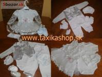 kojenecké oblečenie, šaty na krst