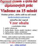 Diplomovky Prešov-Viazanie diplomových prác Pre
