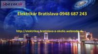 Elektrikár Bratislava a okolie Nonstop