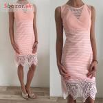 Krásné růžové šaty