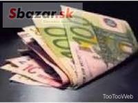 Ponuka pôžičky medzi jednotlivými vážny