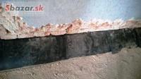 Najlacnejšie podrezanie domu-hydroizolácie