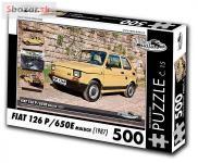 Puzzle FIAT 126 P/650E maluch (1987)