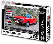 Puzzle ŠKODA GARDE (1983)