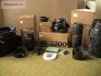 Profesionálna jednooká zrkadlovka Nikon D700