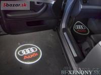 Ľad logo projektor Audi celá sada 2ks + vrták
