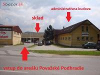 Prenajmeme skladové priestory - Považské Podhra