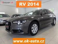 Audi A6 2.0 TDI KŮŽE PRAV.SERVIS AUDI 2014-DPH