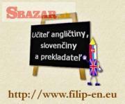 Výučba angličtiny a doučovanie slovenčiny
