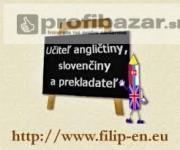 Vyučovanie angličtiny a doučovanie slovenčiny