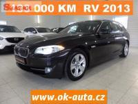 BMW 5 2.0 D KŮŽE NAVI 133 000 KM rv 2013-DPH