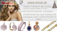 Zlaté šperky od KORAI ako darček na Vianoce