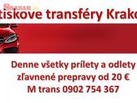 Poprad - Krakow sk / doprava na letisko denne