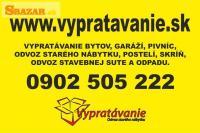 Odvoz starého nábytku, vypratávanie Bratislava.