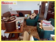 Odvoz starého nábytku, vypratávanie bytov, pivn