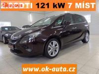 Opel Zafira 2.0 TDCI COSMO 121kW 7 MÍST-DPH