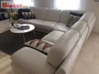 Luxusný 7 ročný gauč z talianskej kože