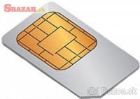 Predám Strieborné Číslo, 4G SIM