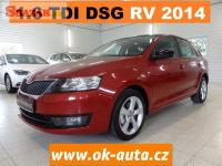 Škoda Rapid 1.6 TDI DSG NAVI CLIMATRONIC 2014-DPH