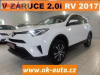 Toyota RAV4 2.0i 4x4 V ZÁRUCE ČR 65 000KM 2017-D