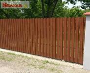 Plechové plotové dielce - plotovky