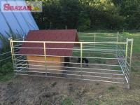 Na predaj nová ohrada pre ovce a kozy.
