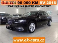 Škoda Superb 2.0 TDI STYLE 96 000 KM ČR RV 2016-