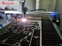 CNC Plazma ploter, 4D rotačná osa, pálenie Jäc